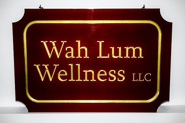 Wah Lum Wellness Sign.